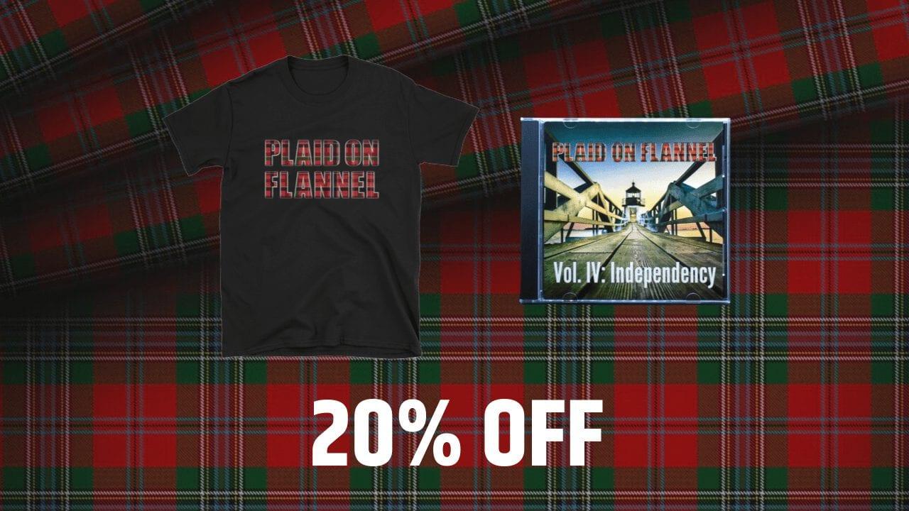 T-Shirt & CD Bundle-min